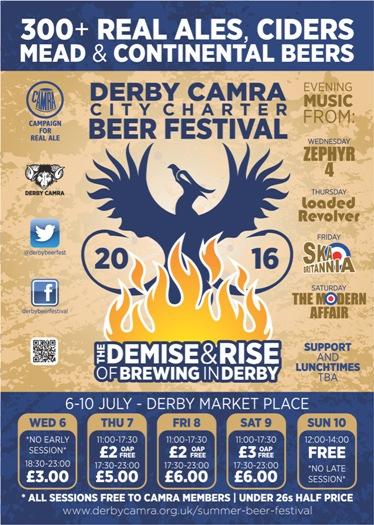 Derby beer festival